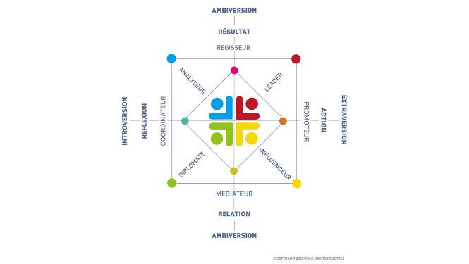 Color Profil test personnalité coach développement personnel et job coach namur barbara bloquiaux